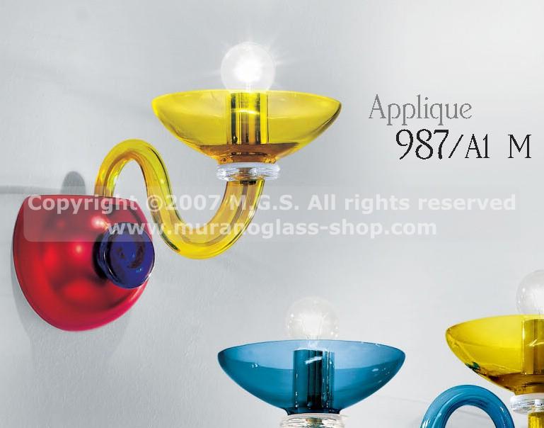 Applique 987 murano glass shop